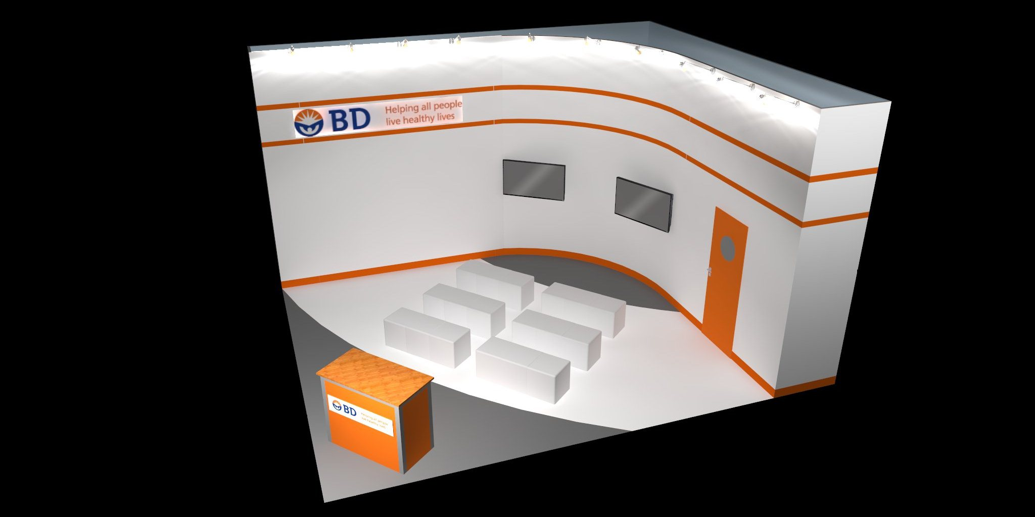 Exhibition Stand Design Concepts : Exhibition stand concepts blueprint displays