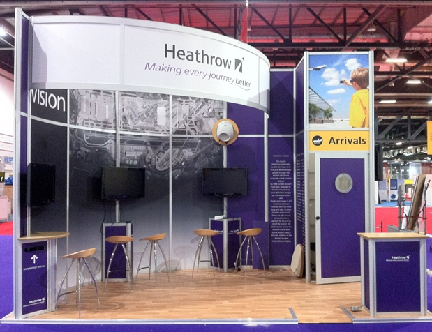 Modular Exhibition Stand Quotes : Exhibition stands blueprint displays