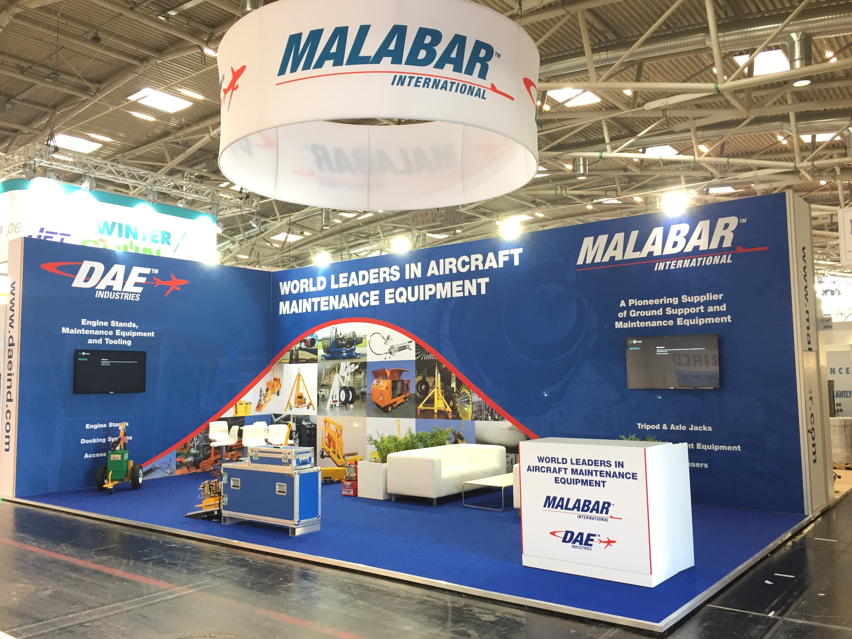 Malabar exhibition stand at interairport munich blueprint displays malabar exhibition stand at interairport munich malvernweather Images